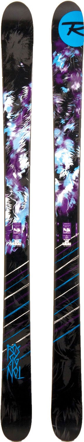Ski Rossignol's Park and Pipe skis include modern, rocker technology, proven park and pipe performance, bold graphics and exceptional durability for the hard-charging twin-tip skiers.Key Features of the Rossignol S6 Jib Skis: SC: 140/110/133 R: 21.3 (186) - $519.95
