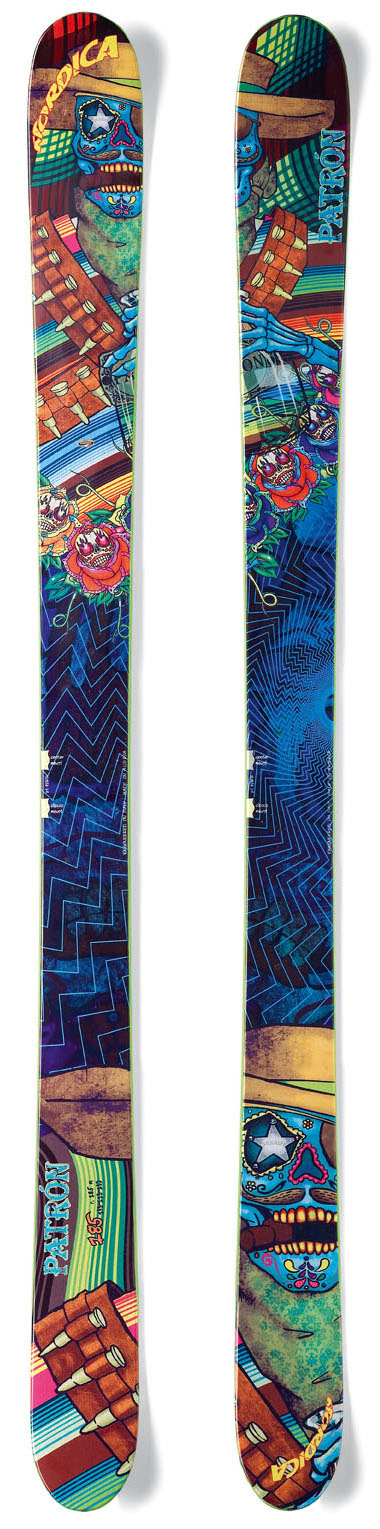 Ski Key Features of the Nordica Patron Skis: Energy Ca Construction High rise CamRock - $523.95