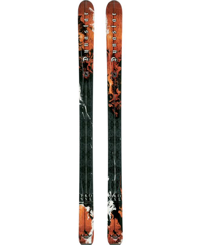 Ski The Dynastar Legend Pro Xxl Ski features full vertical side walls, two layers of metal, and a wood core. The wood core has a strip of Rohacell, an acrylic which is a very light and nervous material. This helps to reduce the weight of the ski and adds a bit of 'liveliness' as well. 3D Construction changes the top sheet profile by removing excess material near the tip and tail which reduces weight and increases power to the edge. The XXL is built just like a race stock Super G ski in the Dynastar Race Room.Key Features of the Dynastar Legend Pro Xxl Skis: Radius 41 Sidecut 132-109-122 Sizes 187, 194 Tip Height 90mm Tip Length 215mm 3D Technology Racing Base Titanal Torsion Box Technology Vertical Sidewall Construction Wood, Ro - $670.95