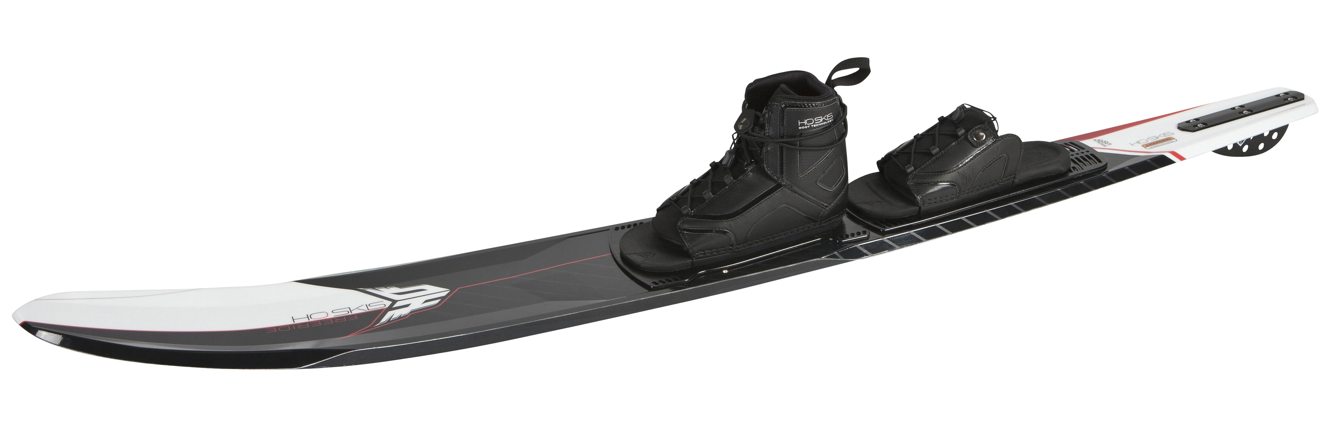 Surf Carve your own pathKey Features of the HO Freeride Slalom Waterski 67 w/ Basis & Artp Boots: Clean Edge Technology for 50% less drag than conventional skis. Allows for comfortable skiing at wakeboard boat speeds Carve Rails for amazing edge hold when laying down powerful arcs Carve Flex for active rocker carving Hybrid Sidewall design – speed where you want it and support where you need it. Shark Fin – surf inspired design for clean cuts and unmatched hold in chop - $449.99