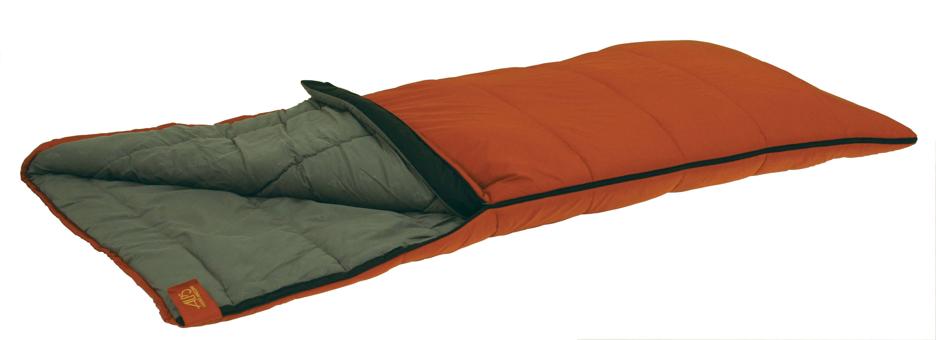 "Camp and Hike The Crater Lake is quickly becoming one of our most popular rectangle bags. It uses 2-layer offset construction to eliminate cold spots. It is composed of Techloft+ Insulation. Techloft+ Insulation consists of multi-hole staple-length micro-denier fibers that have a siliconized finish for maximum insulation, loft, and compactness. This sleeping bag series is great for camping when weather conditions are cold and you want to stay warm.Key Features of the Alps Crater Lake 20 Long Sleeping Bag: 3 Temperature Choices - 2 Lengths 2-Layer Construction TechLoft+ Insulation Nylon Oxford Standard Stuff Sack Included Outer Material: 210T Nylon Ripstop Liner: MicroFiber Liner Color: Grey Shape: Rectangle Zipper: Large #8 Length: Long Dimensions: 33""x 84"" Fill: 3.75 lb TechLoft+ Total Weight: 6 lb 2 oz - $69.95"