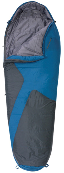 "Camp and Hike Looking for value and a sounds nights sleep  Look no further, the Mistral is the perfect go-to bag if you are looking for warmth and comfort. With off-set construction to maximize warmth, nothing beats falling asleep under the stars.Key Features of the Kelty Mistral 40 Sleeping Bag:  Two-layer off-set quilt construction  Two-way, locking blanket zipper  Zipper draft tube with anti-snag design  Can be fully unzipped and opened flat for use as a blanket  Internal liner loops  Sleeping pad security loops  Hang loops for storage  Ground-level side seams and differential cut for maximum warmth  Stuff sack included  Pillow pocket  FatMan and Ribbon drawcords  Captured cordlock  Zippered chest pocket  Temp Rating: 20 degree / -7 degreeC  Shape: Mummy  Size Regular  Fits to: 6'' / 183 cm                                     Length: 80"" / 203 cm  Shoulder girth: 64"" / 163 cm  Fill weight: 28 oz. / .78 kg  Total weight: 3 lb. 8 oz. / 1.57 kg  Stuffed diameter: 11"" / 28 cm  Stuffed length: 18"" / 46 cm  Insulation: Cloudloft  Shell material: 70D polyester ripstop  Liner material: 66D polyester taffeta - $59.95"