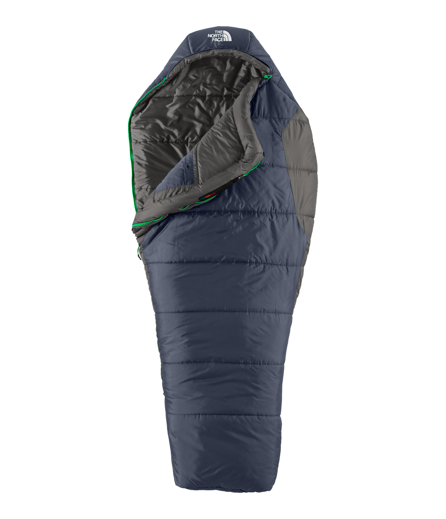 "Camp and Hike Heatseeker insulation in a two-plus-season, forty-degree campground favorite.Key Features of The North Face Aleutian 3S Bx RRH 3 Season Long Sleeping Bag: Temp Rating: 20 degrees Fahrenheit Weight: 3lbs 6oz Stuffsack size: 8"" x 6.3"" x 20.7"" Heatseeker insulation Soft ripstop nylon shell Internal watch pocket Roll-top stuffsack Tested to EN 13539 - $88.95"