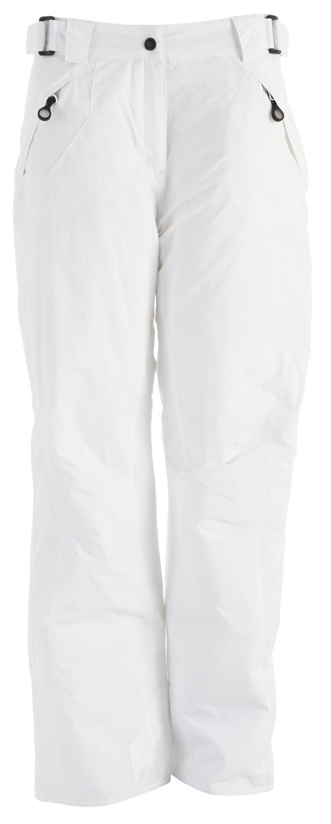 Snowboard An Original Women's Specific Snow Pant, the Rawik Breaker Snowboard Pants.Key Features of the Rawik Breaker Snowboard Pants: Fabric -100% Nylon Taslan w/ DWR Repellency Treatment Insulation - 100% Polyester, 80 Gram Poly Fill Slimming Asymmetrical Leg Lines Adjustable Waistband Inside Snow Cuff - $54.95