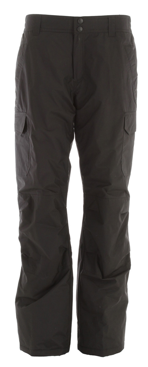 Snowboard Value & Durability in this Boulder Gear Zephyr Cargo Snowboard Pant.Key Features of the Boulder Gear Zephyr Cargo Snowboard Pants: Fabric -100% Nylon Taslan w/ DWR Repellency Treatment Insulation - 100% Polyester, 80 Gram Poly Fill Double Cargo Pockets with Velcro Closoure Reinforced Knees and Seat Belt Loops on Waistband Inside Snow Cuff - $58.95