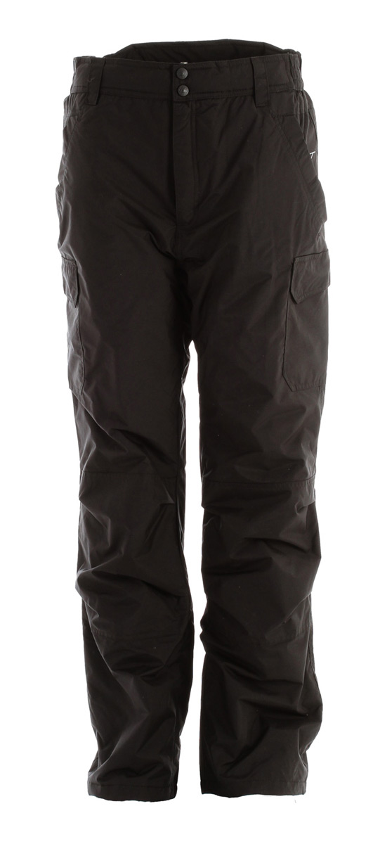Snowboard Value & Durability in this Boulder Gear Zephyr Cargo Snowboard Pant.Key Features of the Boulder Gear Zephyr Cargo Snowboard Pants: Specifications: Fabric -100% Nylon Taslan w/ DWR Repellency Treatment Insulation - 100% Polyester, 80 Gram Poly Fill Double Cargo Pockets with Velcro Closoure Reinforced Knees and Seat Belt Loops on Waistband Inside Snow Cuff - $39.96