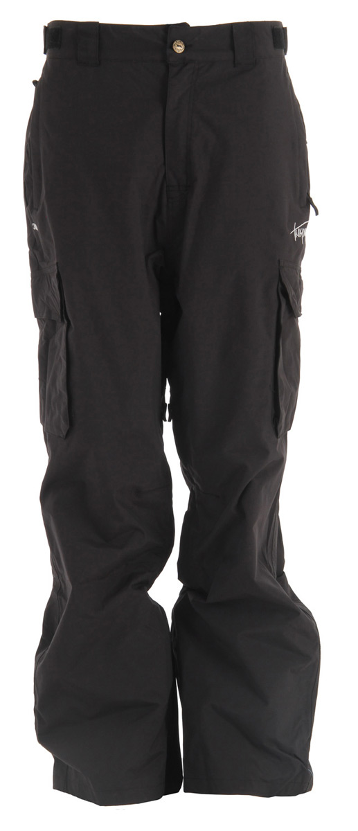 Snowboard Key Features of the Trespass Acknowledgement Snowboard Pants: 3,000mm Waterproof Windproof Taped seams 100% polyamide PU coating Shell Tricot lining Leg ventilation zips 4 zip pockets 2 pockets Side waist adjusters Ankle zip with facing Cut away back hem Relaxed fit - $53.95