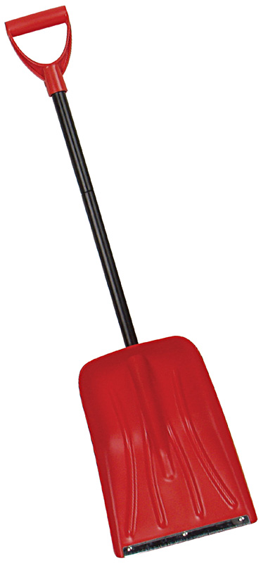 Snowboard Booster Snowboard shovels are for the riders with minimalist tendencies. A single, non-adjustable shaft with a simple T-handle reduces weight while delivering all the necessary leverage. A stout aluminum blade knifes through cement-like avalanche debris. Did we mention it's great for making jumps - $7.95
