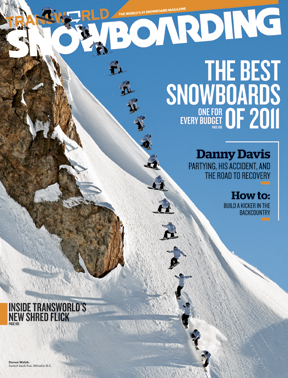 Snowboard Get a 1 year subscription to Transworld Snowboarding ($3 value) with select snowboard purchases. Subscription is refundable. If you do not want this offer follow the refund details that will be mailed to you.Celebrating 24 years and 200 issues as the world's #1 Snowboarding Magazine. At 62% off the newsstand price 9 issues will give you a comprehensive look at the riders, the locations, the gear and of course the experiences that make up snowboarding. If you are a snowboarder, you're one of us... Please note that no subscription card is available with this product. After your subscription order is placed we will process the order immediately and send ti to the publisher for scheduling. Estimated delivery time for the arrival of your fist issue is 6-9 weeks. - $16.95