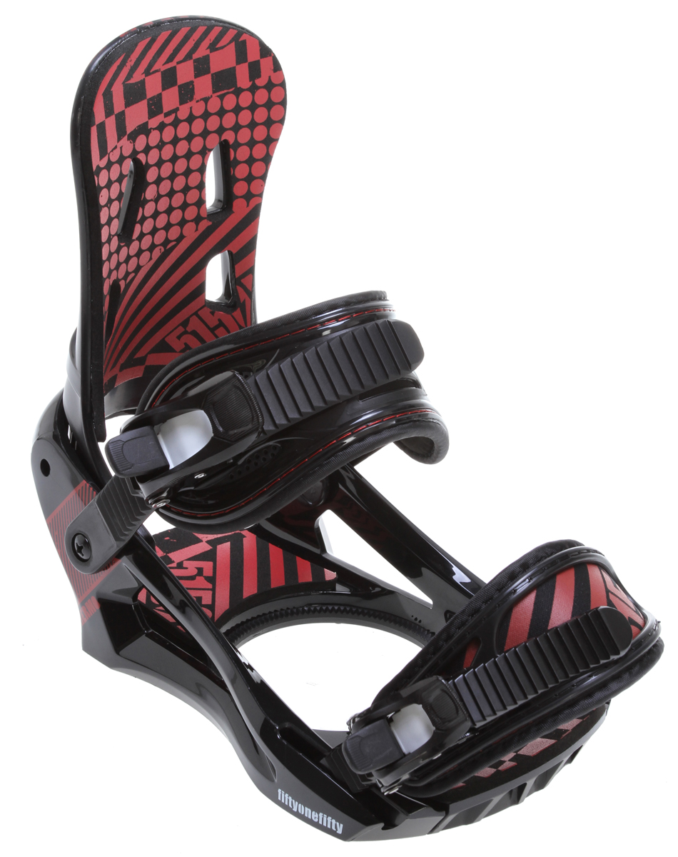 Snowboard An insane value! The Thermo rips like many top-level binders at a fraction of the cost. Our new Reaction chassis provides unreal response.Key Features of the 5150 Thermo Snowboard Bindings /Red: Reaction™ chassis with adjustable toe ramps for ultimate response Ultra-flex™ Ankle Straps and XBand™ Toe Straps Padded Anatomical Highback for maximum comfort and control Flip-Lock, Tool-Less, Forward Lean Adjustment Easy-Grab, Quick-Adjust Lift-Release Ratchets 360° Disc Mount for virtually limitless stance options - $79.95
