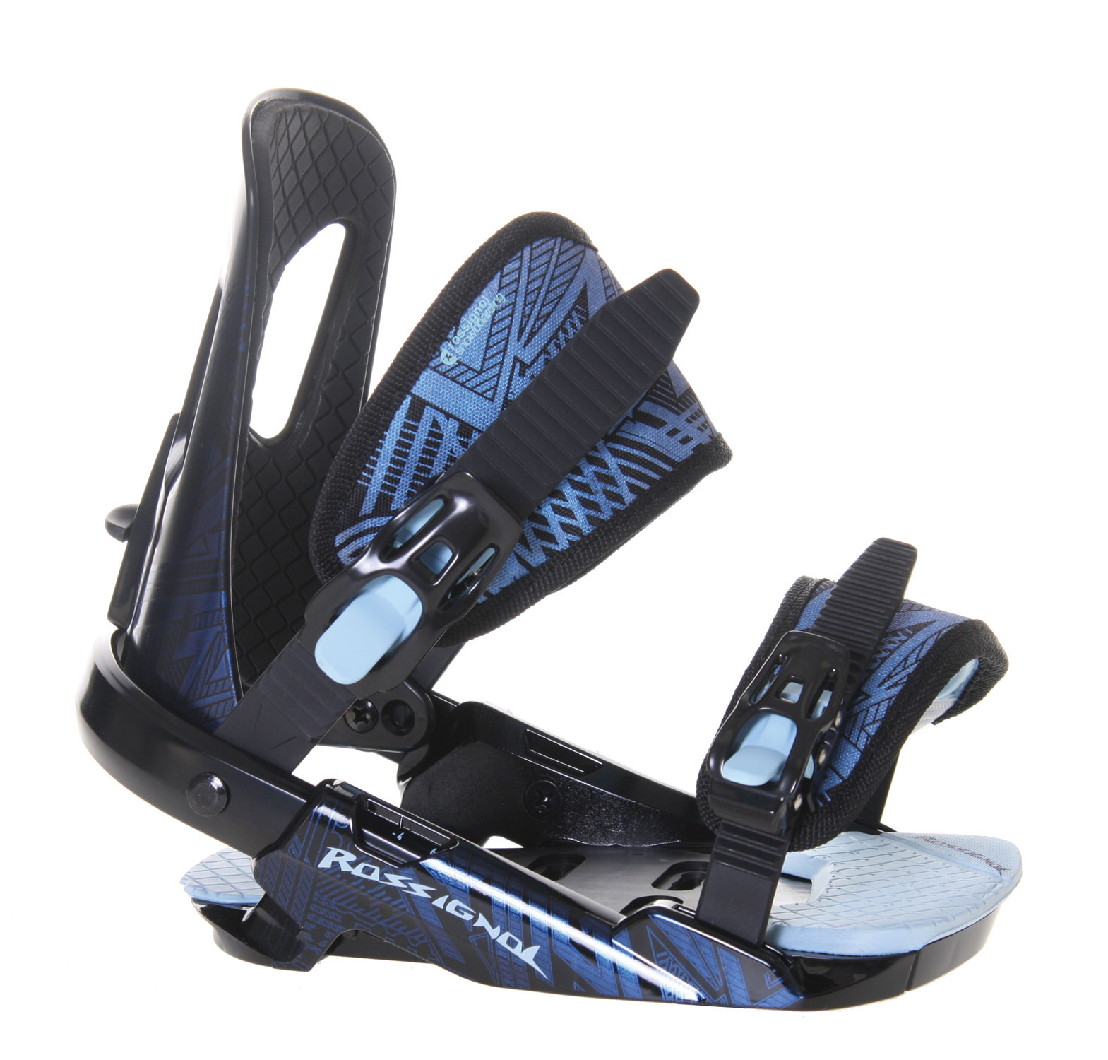 Snowboard Rossignol Harmony Snowboard Bindings are perfect for all skill levels. It works great on all-mountain terrain. It provides the performance that is needed from a binding with the comfort that is desired for all day riding! It provides a tool free length adjuster which is perfect while you are on the mountain with no tools on hand. It is also composed of high quality materials to give you the durability that is needed while tearing down the mountain.Key Features of The Rossignol Harmony Women's Snowboard Bindings: 3D HS FI Straps HC-H (Heel Cup Extruded Hollow Technology) I-Back Light Puffy Pads - $83.95