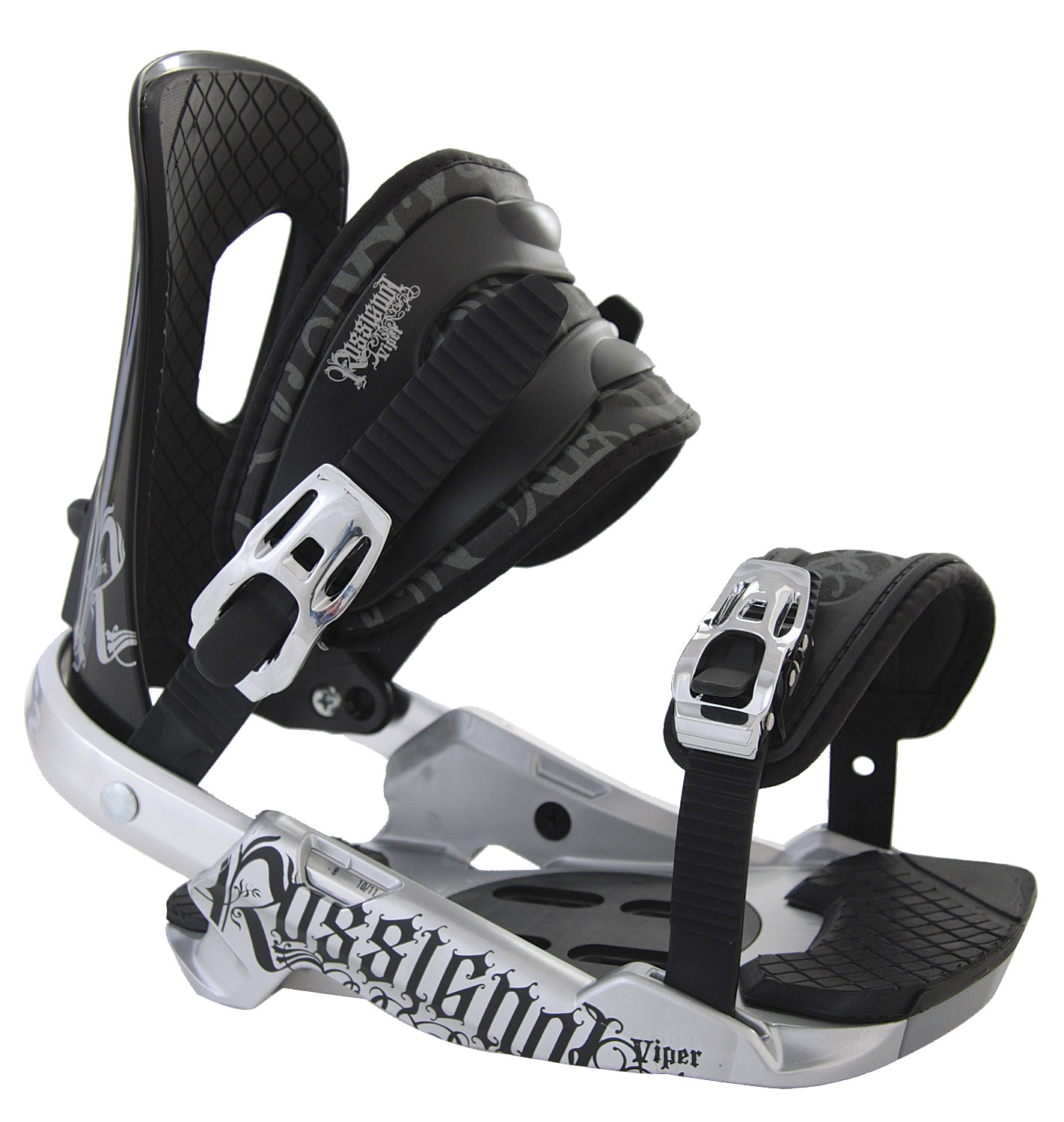 Snowboard Rossignol Viper Snowboard Bindings are a great binding for any beginner to intermediate boarder. It offers many desirable features with a great price. The performance of the binding will help you develop your skills as a snowboarder that will take you to the next level. The bindings are made of quality and durable materials that will provide you with the responsiveness that you need. You will feel the comfort and performance of these bindings after riding all day on the mountain. These bindings are perfect for all-mountain terrain.Key Features of The Rossignol Viper Snowboard Bindings: Base Plate - HC-X Hi-Back - I-Back Light Straps - 3D EVA Extra - Puffy Pads - $77.95