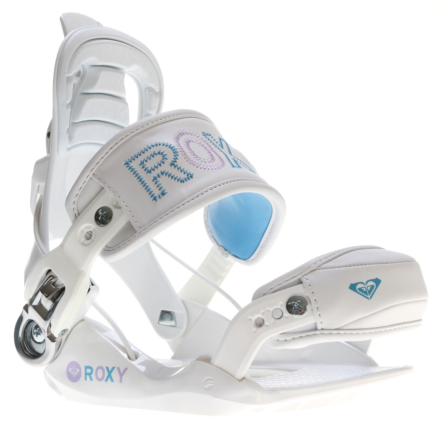 Snowboard Hit the slopes with the Roxy RX Fastec Snowboard Bindings under your feet! These bindings are all about convenience, speed, performance, comfort and style. Aesthetically pleasing, the Roxy RX Fastec Snowboard Bindings feature a reclining highback, high speed entry and exit system, and an easy to use forward lean adjustment. The size adjustable high back, chair lift relief buckle and 3D ankle and toe strap make these bindings comfortable for every rider who takes them to the mountain. Strap in and feel the responsive power that comes from the Roxy RX Fastec Snowboard Bindings!Key Features of the Roxy RX Fastec Snowboard Bindings:  Convenient Reclining Highback  High Speed entry/ exit  Forward lean adjustment  Contoured EVA  Extra comfortable 3D ankle and toe strap  Anatomical EVA covered highback pad  FLEX: 5  Fast entry/ exit, and high performance  Chair Lift Relief Buckle  Tool-free toe and ankle straps  Size-adjustable highback  Multi-disc for 4, or 3 hole insert patterns - $113.95
