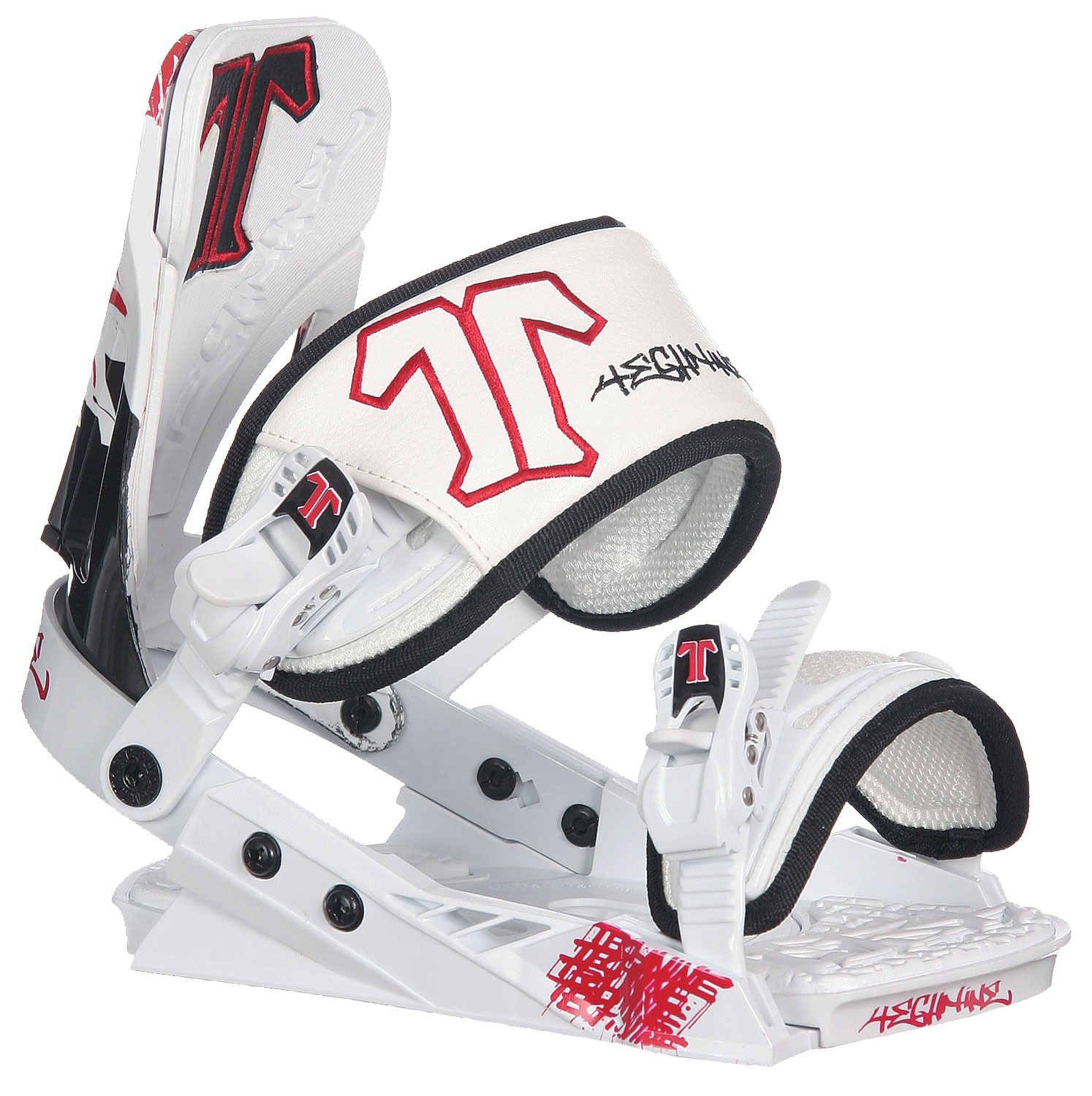 Snowboard The Techine Mass Appeal Snowboard Bindings will be a perfect addition to any snowboard. The Bindings are available in 3 different colors, so it coordinates perfectly with any snowboard. They are great bindings that are very durable. They work great for riding all over the park and the bindings have an adjustable high back should you need it! Thechine offers features that are on high end binding but in the low end price range. They also are a company that offers a lifetime warranty.Key Features of The Technine Mass Appeal Snowboard Binding: Combo Baseplate with Heel and Toe Ramps Adjustable Toe Ramps Molded Highback, Toe & Heel Ramp, Toe & Ankle Pads Sleek Fully Adjustable 6061-T6 Heelcup Classic Baltimore Toe Strap with Molded Padding New Adjustable Highback Adjust 2cm in Height with Independent Forward Lean Adjustment Tool Free Toe Adjustment Tool Free Ankle and Toe Strap Adjustment Cast Aluminum Ankle & Toe Ratchets with Custom Rubber Logo Grips - $72.95