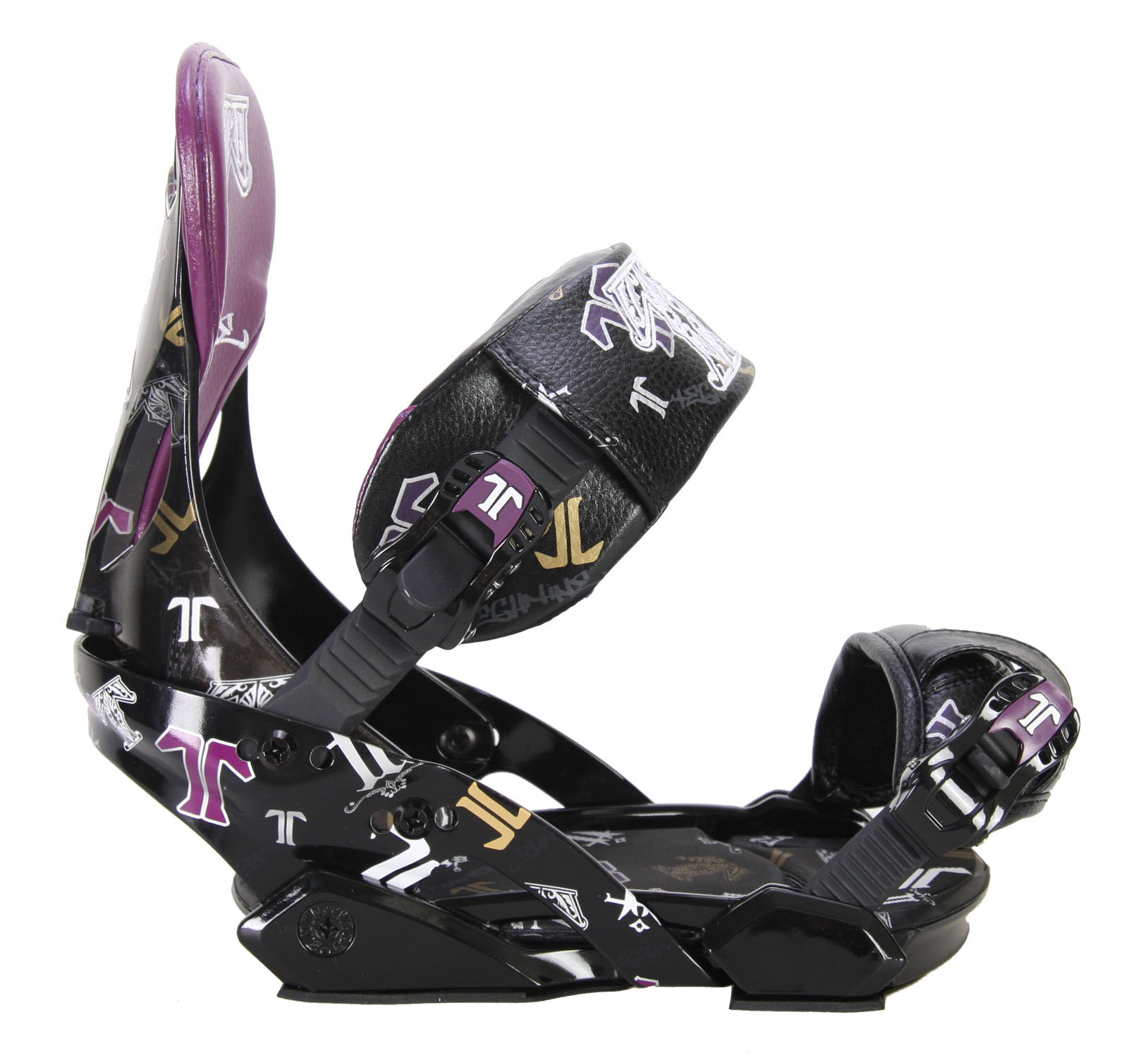 Snowboard Technine's T-Money Pro Series snowboard bindings give you high performance and a secure fit. The all-new T9 geometry enforces your stance in all the right places, and the aluminum heel cup gives you plenty of lockdown on your toe side edge. The tool-free ladders are easily adjustable so you get set exactly how you like. Molded EVA pads provide comfort and cushioning in critical zones. Get pro performance with the Technine T-Money snowboard bindings.Key Features of The Technine T-Money Pro Snowboard Bindings: All new T9 Geometry!! 6061 T6 Aluminum Heelcup 3D Molded EVA Ankle Straps Baltimore Toe Strap Adjustable Highback Rotation Tool-free Quick Adjust Ladders Molded toe, disc cover, and heel ramp EVA pads Cast-aluminum ratchets with custom rubber logo grips Sizing: small (6-8  medium (8-10  large (10 - $89.95