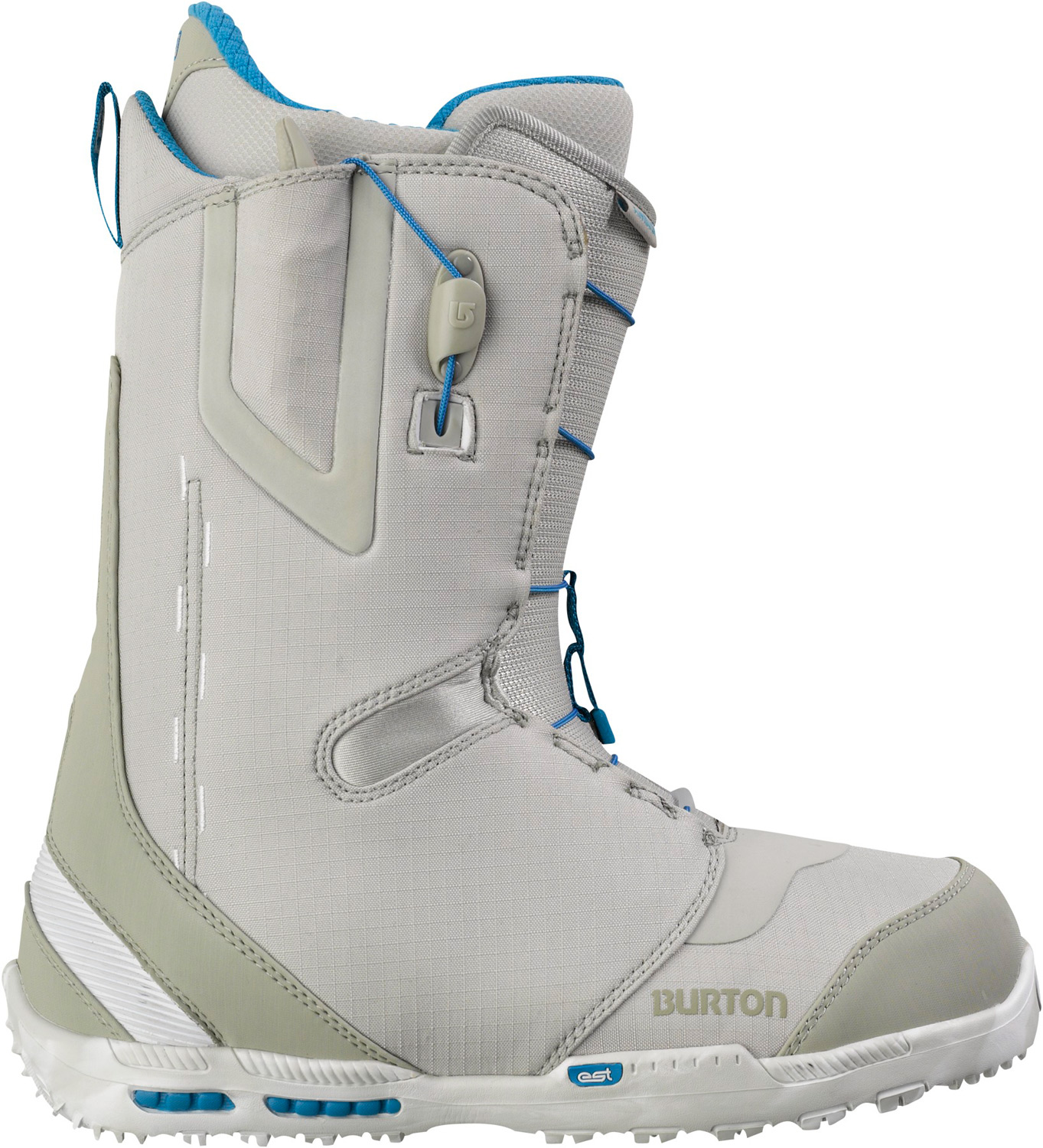 Snowboard A wealth of stealth in a lightweight leader.Key Features of the Burton Ambush Snowboard Boots:  Support: 5  Shrinkage Footprint Reduction Technology  Lacing: Speed Zone Lacing System for True Zonal Lacing Control [Featuring Winder Handles]  Liner: Imprint 3 Liner with Rad Pad  Cushioning: DynoLite EST Optimized Outsole with B3 Gel  Flex and Response: Wishbone Upper Cuff, Oversized Flex Notches, Medium Flex Thin Profile 3D Molded Tongue and Flex Spine Backstay Design  Comfort: Total Comfort Construction, Snow-Proof Internal Gusset and Level 2 Molded EVA Footbed with ESS Support Shank and Aegis Antimicrobial Coating - $167.95