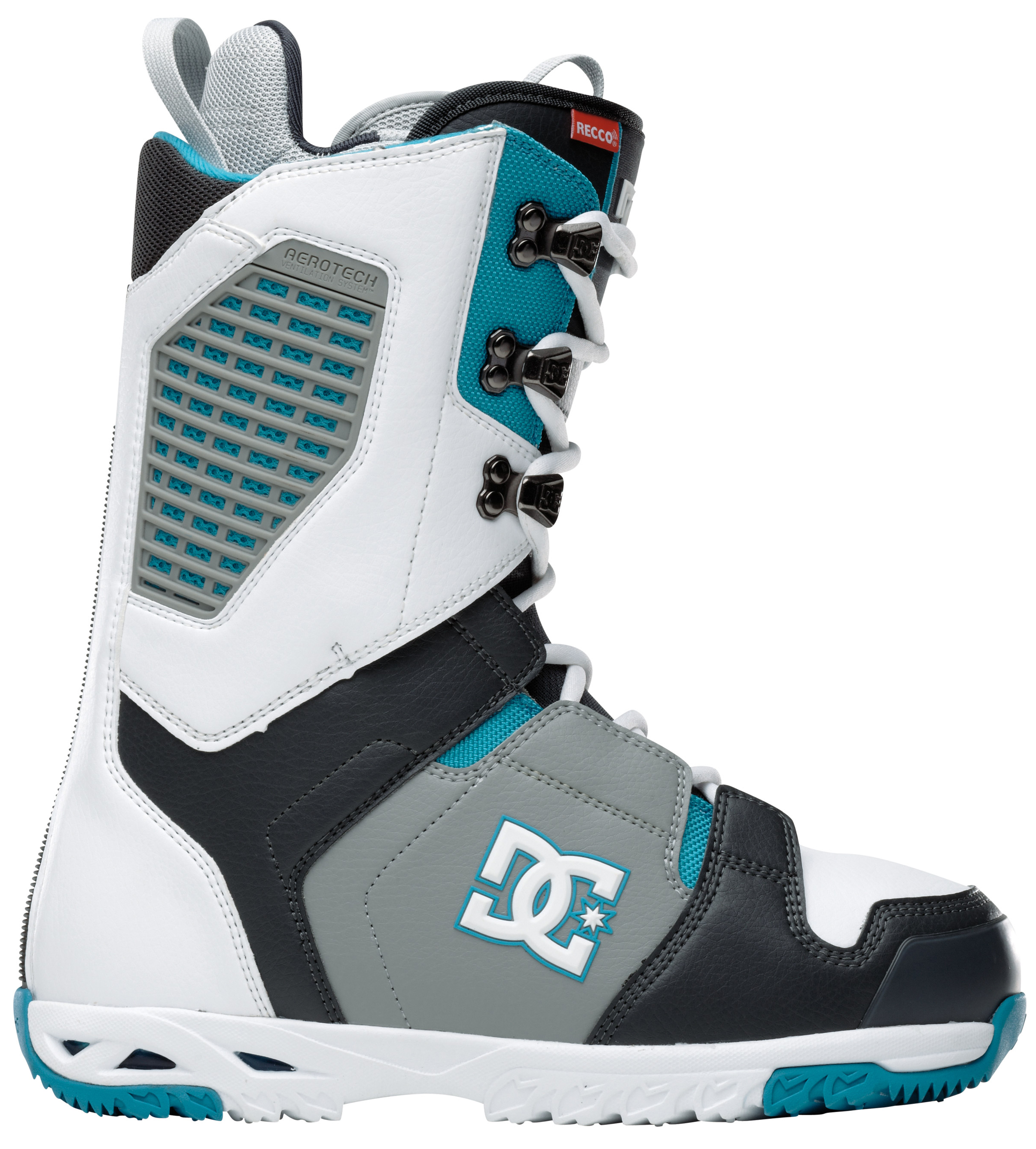 Snowboard The Ceptor is the most versatile lace boot on the planet. There are no gimmicks when it comes to this boot, just technical features to provide you with the best days of your life. It's the boot of choice for Devun Walsh and Lauri Heiskari.Key Features of the DC Ceptor Snowboard Boots: Direct power lacing Wraplock Aerotech 3D tongue Articulation Molded backstay Welded toe cap Internal ankle harness Unilite Impact G Alpha liner Flex rating: 8 - $161.95
