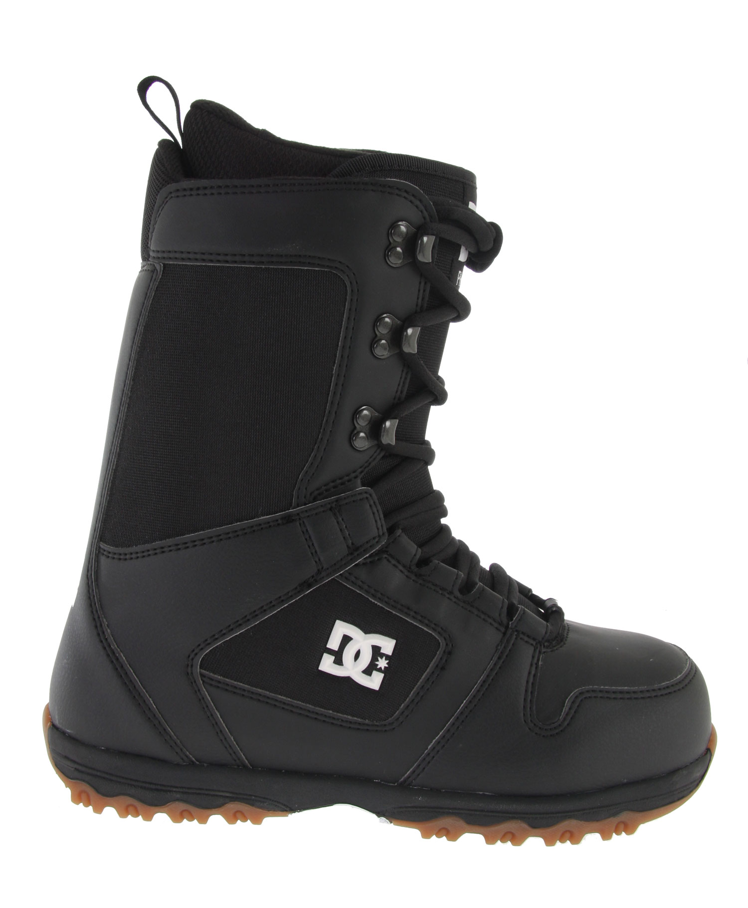 Snowboard If you are looking for a versatile all-mountain boot then the DC Phase Snowboard Boot is the one for you.  Manufactured with only the best materials to provide a water-resistant, comfortable and smooth ride.  Uniquely styled it has become extremely popular for our performance oriented customers and comes at a great price.Key Features of the DC Phase Snowboard Boots:  Synthetic Leather & PU coated mesh  Traditional Lace  Low Profile Rubber Cupsole  Delta Liner  Flex Rating 5 - $77.95