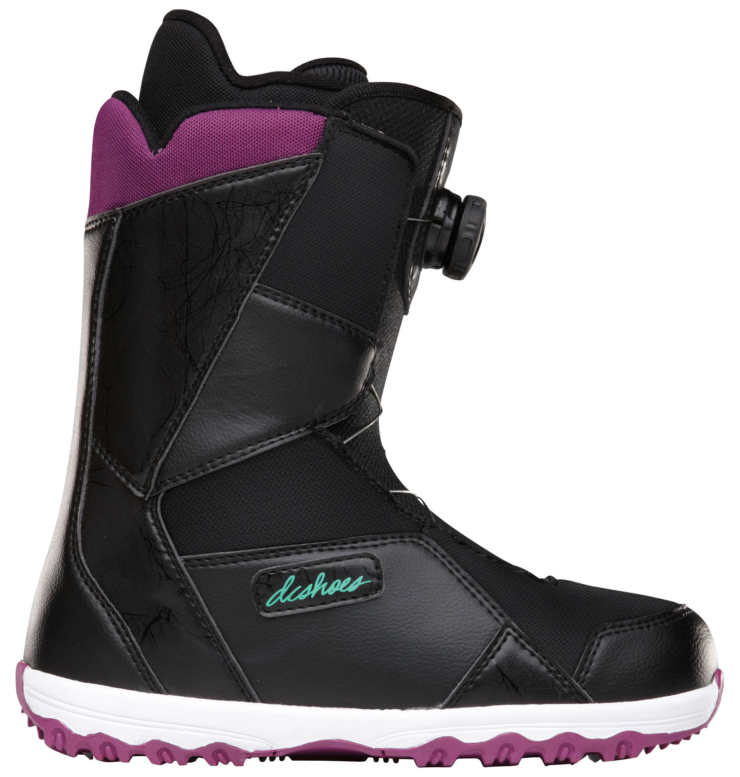Snowboard Slim, warm, and comfortable are what make the search one of dc's most popular boot in the women's line.Key Features of the DC Search BOA Snowboard Boots: Flex: 5 Boa Coiler Low Profile Command Liner: multi density zones, aegis, lace closure, anatomical J-bars - $125.95