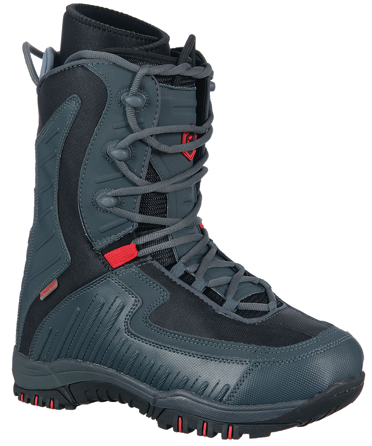 Snowboard The Limited Lyric Snowboard Boots boast an EVA liner to keep your feet comfortable and happy while you're riding hard. Key Features of the Limited Lyric Snowboard Boots: Thermoform EVA Lined Construction Rubber Cup Outsole with Molded-In Shank TPR Tongue and Flag Logos Flex-Zone Tongue Synthetic PVC Uppers 3-Rung Nylon Speed Hooks - $49.95