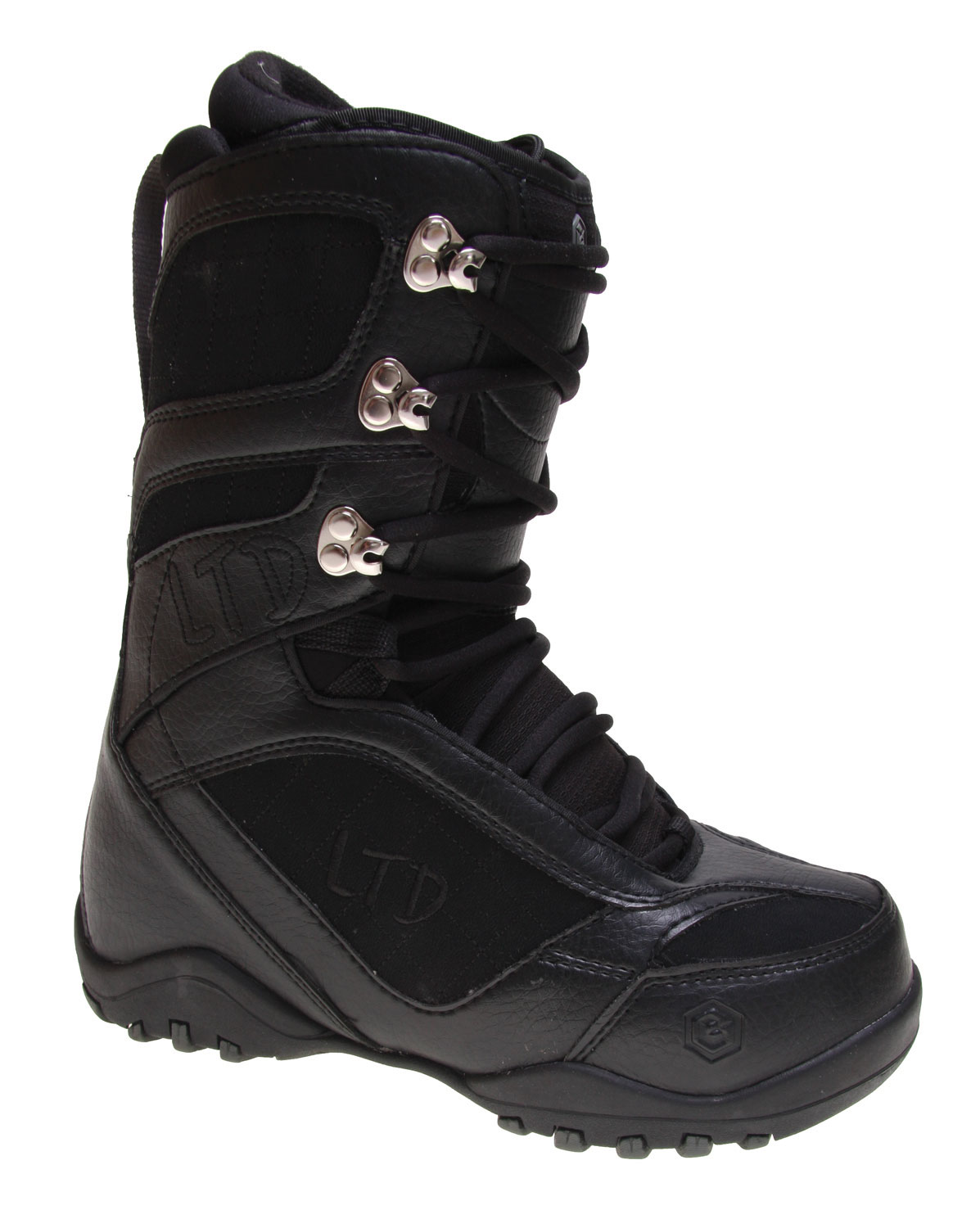 Snowboard The popular LTD Classic Snowboard Boot for men gets an upgrade that amps up its affordable performance. The latest version of the Classic snowboard boot from LTD boasts an articulated lace-up insert with lightweight support in the molded EVA footbed. The Classic's double-dense outer sole is contoured for a low profile. If you are looking for a snowboard boot with a great work ethic and a bevy of rider-inspired features for a price that leaves you enough to pay for a ski pass, why not stick with the Classic?Key Features of The LTD Classic Snowboard Boots: PL Articulated Lace Up Liner with EVA Footbed Low Profile Dual Density Outsole Soft Tricot Lacing Tongue Gusset with Micro Injected Pull Tab Flex Zone Tongue Upgraded Materials - $59.95