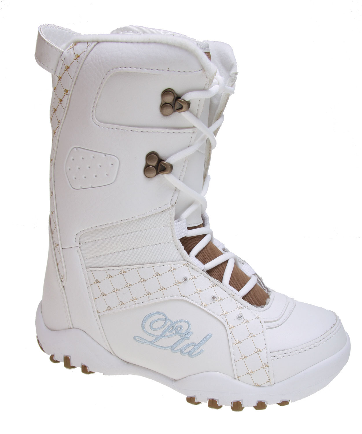 Snowboard Wearing the wrong kind of boot while on the snow this season will hinder your performance. Go well prepared in boot designed to aid you from the time you lace them to sundown. The LTD Stratus snowboard boots have the thick soled aggressive traction to keeping on your board longer and support your feet. The thick insulated interior with this waterproof boot is sure going to keep your feet warm and dry all day. The pull tab on the tongue and the soft-touch lacing help to secure your boots easier and faster. They look great and work great as well!Key Features of The LTD Stratus Youth Boy's Snowboard Boots: NEW Built in Liner System NEW Low Profile Dual Density Durable Soft Touch Lacing Tongue Gusset with Micro Injected Pull Tab Flex Zone Tongue NEW Upgraded Materials Soft Touch Laces - $59.95