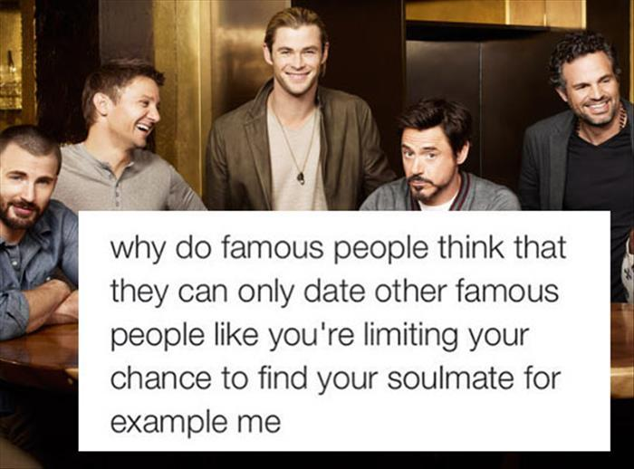 Chances Of Dating A Famous Person