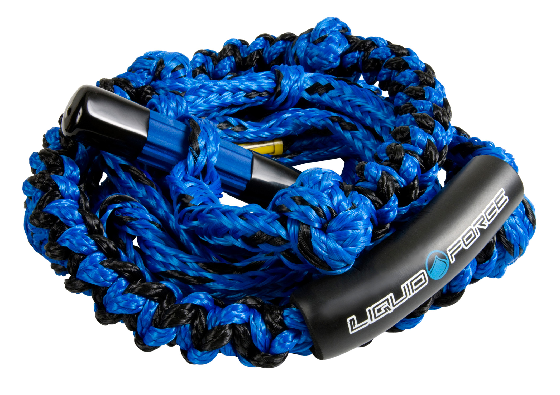 "Surf Extra safe T-handle design features super sturdy 5/8"" rope and an easy grip handle.  A unique knotted coil design gives you plenty of space to grip... Pull yourself into the sweet spot and get your slash on - 24"" Foot Braided PE Line 3 Sections - $41.95"