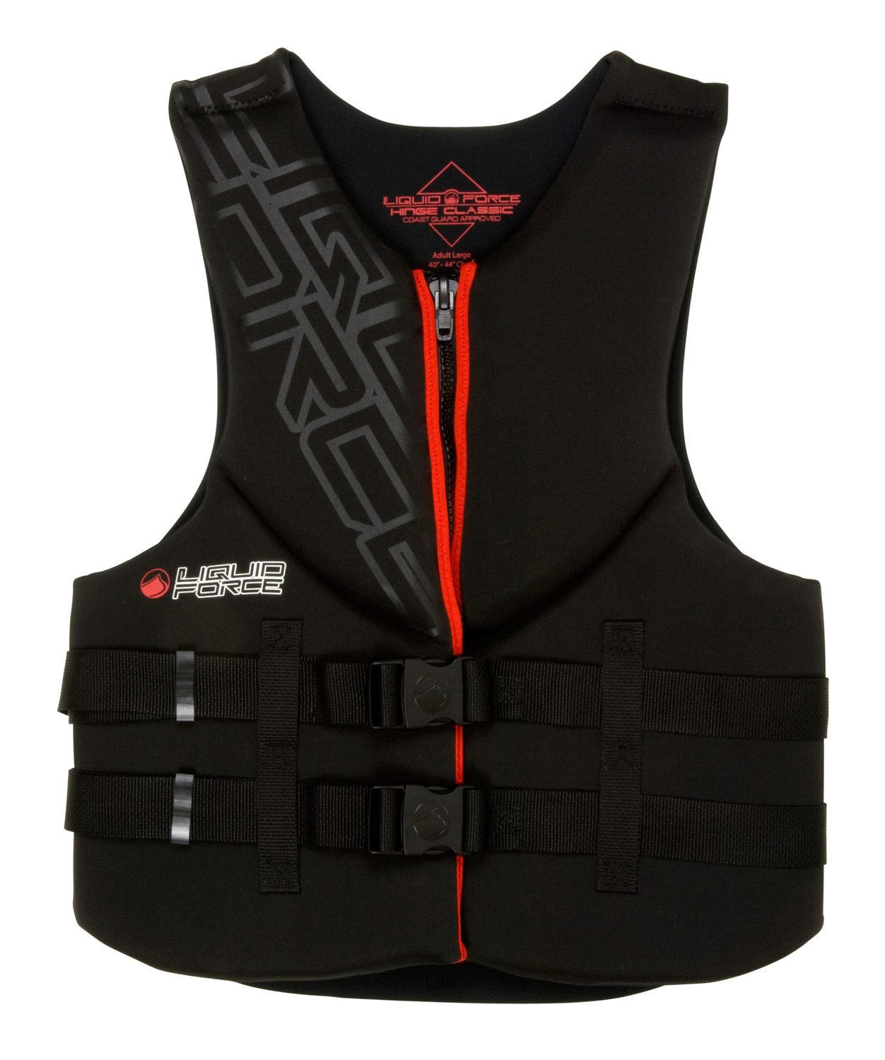 Wake The Hinge Classic is a great vest for wake boarding, tubing, or just floating down river. - $59.99