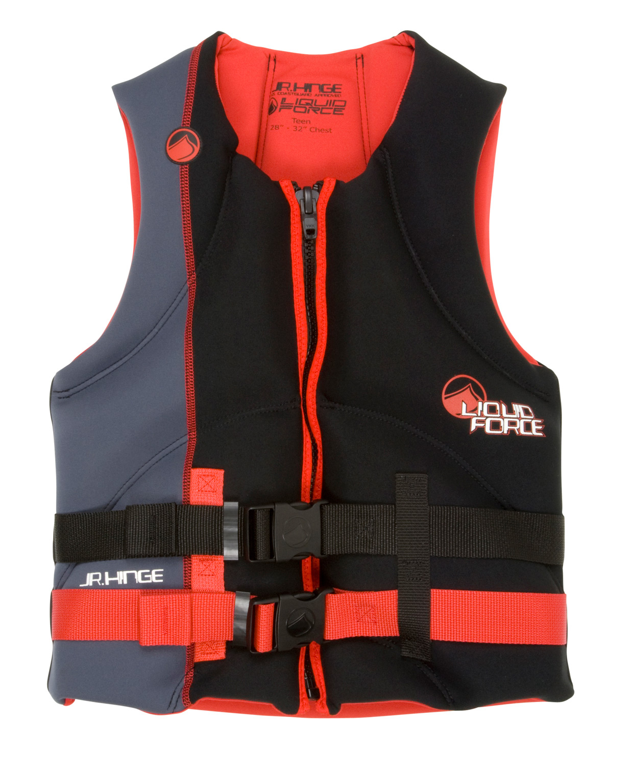 Wake The Hinge uses segmented foam panels and hinge points to allow for superior movement in a CGA vest. There's no comparison to the mobility and comfort and value this vest offers. The segmented sections are beveled to hinge with your every move and provide a high-end vest feel.Key Features of the Liquid Force Hinge CGA Wakeboard Vest: US Coast Guard Approved: Maximum flotation and safety Segmented Shoulders: Rounded separate sections of foam that flex and provide mobility Oversized Arm Holes: Extra space and comfort for added mobility Heavy Duty Zipper: Secure, solid hold Hidden Straps: Clean and simple - $59.99