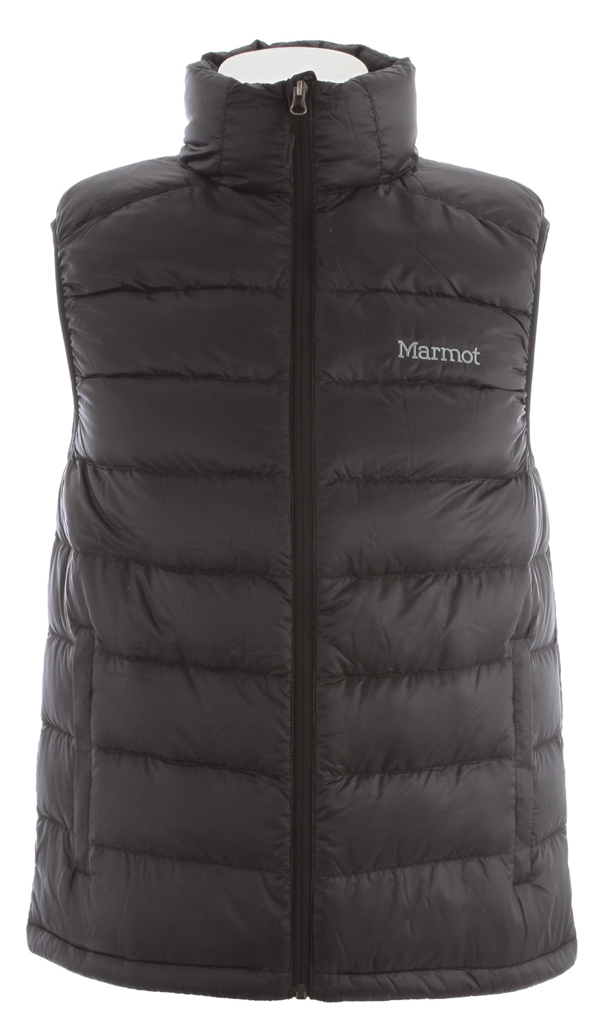When the thermometer plunges, reach for this ultra light vest, packed with high-quality 800 fill power goose down. It's a great way to stock up on warmth without bulking up your pack, since it fits into its very own pocket! Features include an elastic draw cord hem and cozy hand warmer pockets.Key Features of the Marmot Zeus Vest: Ultralight Down-proof Fabric 800 Fill Power Goose Down Zippered Hand Pockets Elastic Draw Cord Hem Packs into Pocket - $105.95