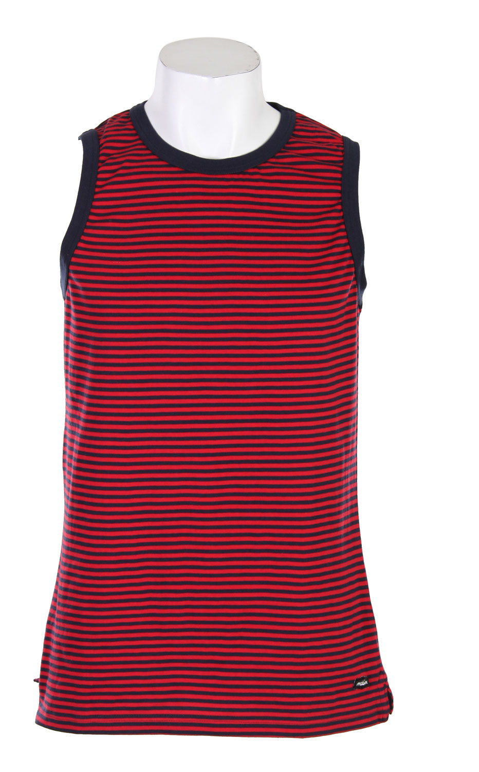 Surf A tank for men on the go, the Matix Parisian Tank beings a casual and cool vibe to any wardrobe. This tank made out of 100% cotton jersey features yarn dyed stripes and the Matrix logo. It is a nice spring tank top piece that can be paired perfectly with jeans for cargo shorts. Take your style to the next level with the Matix Parisian Tank. Priced just right, this tank won't break the bank and will keep you looking your best all summer long.Key Features of The Matix Parisian Tank: 100% Cotton Jersey Nice Spring Tanktop Piece Yarn Dyed Stripes Matix Labeling - $18.95