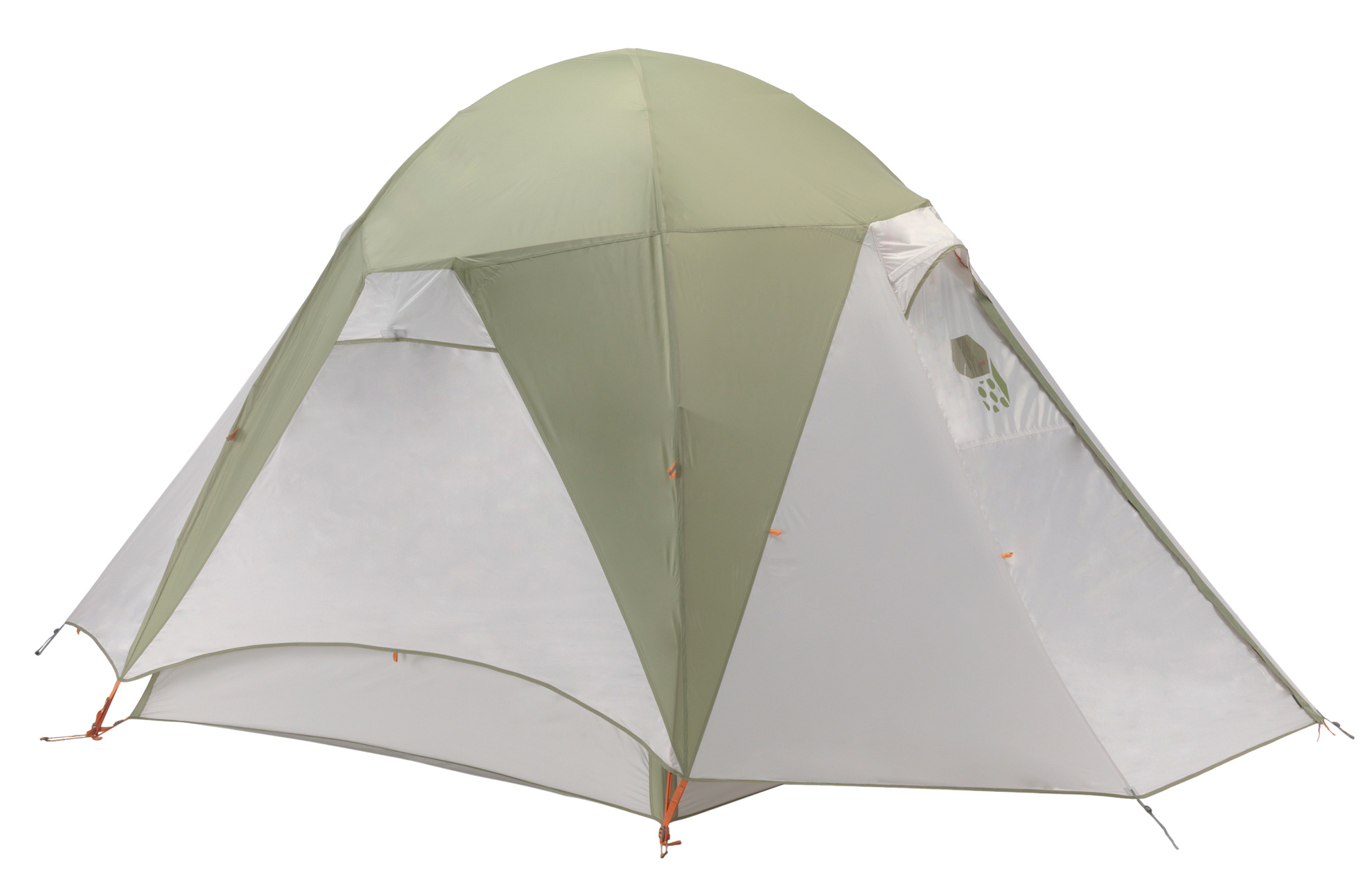 "Camp and Hike Basecamp in comfort with this spacious two-door design. Four-hub pole structure sets up quickly and easily, and provides plenty of headroom, while reflective starter points and guy-out loops make even late night set-up a breeze. Vestibule design prevents rain and wet from entering the tent's inner shelter. Dual vestibules provide ample storage for your gear.Key Features of the Mountain Hardwear Corners 4 Tent: Vents positioned on all four sides of the fly keep the interior cool Unique pole structure with 4 hubs at corners maximizes interior volume and makes set up extremely easy Vestibule design creates a dry storage area and prevents water from reaching the tent floor Proprietary Evolution Tension Arch™ stabilizes tent Reflective starter point and guy-out loops for easy set-up at night Clear SVX window is UV-resistant, providing a view and extra light ""Pitch Light™ configuration allows user to set up a superlight shelter using only the tent fly, poles and footprint (sold separately)"" Capacity 4 Minimum Weight 14 lb. 7 oz. / 6.53 kg. Packed Weight 15 lb. 5 oz. / 6.93 kg. Tent Floor 150D Polyester Oxford 3000mm PU, DWR , FR Poles 6061 PF Canopy 20D Nylon Knit Mesh;68D Polyester Ripstop DWR Reinforcement 75D Polyester Taffeta 1500mm PU Fly 75D Polyester Taffeta 1500mm PU Floor Area 64 sq. ft. / 5.9 m2 Number Of Doors 2 Number Of Poles 2 Number Of Vestibules 2 Vestibule Area 22 sq. ft. 2.0 m2 / 14 sq. ft. 1.3 m2 Interior Height 83"" / 211 cm Packed Diameter 11 in / 28 cm Packed Length 34 in / 86 cm - $399.95"