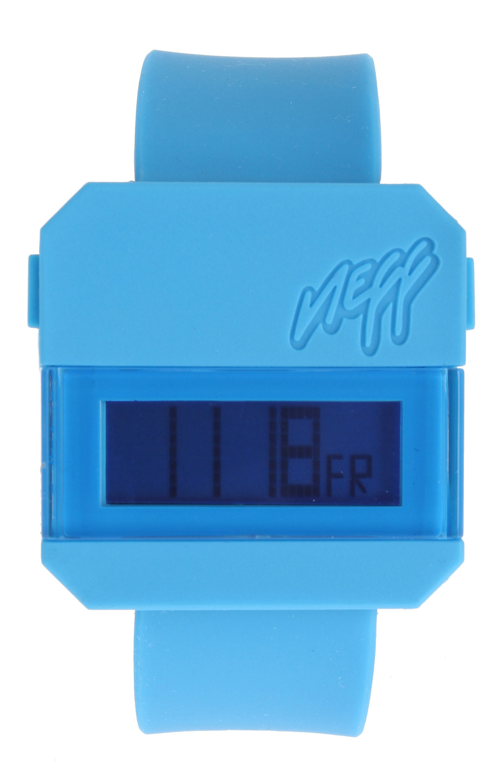 Skateboard Neff Digi Watch Cyan - $19.95