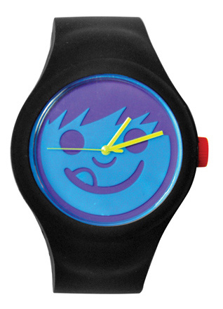 Skateboard Get wicked on time with the Neff Timely Watch!Key Features of the Neff Timely Watch: Singapore movement Silicon stretch band Removable interchangeable face Stainless steel back and clasp 165ft water resistant Neff suckerface logo on face and crown - $35.00