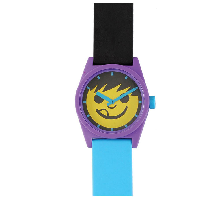 Skateboard Neff Daily Sucker Watch Yellow/Purple/Cyan - $15.95