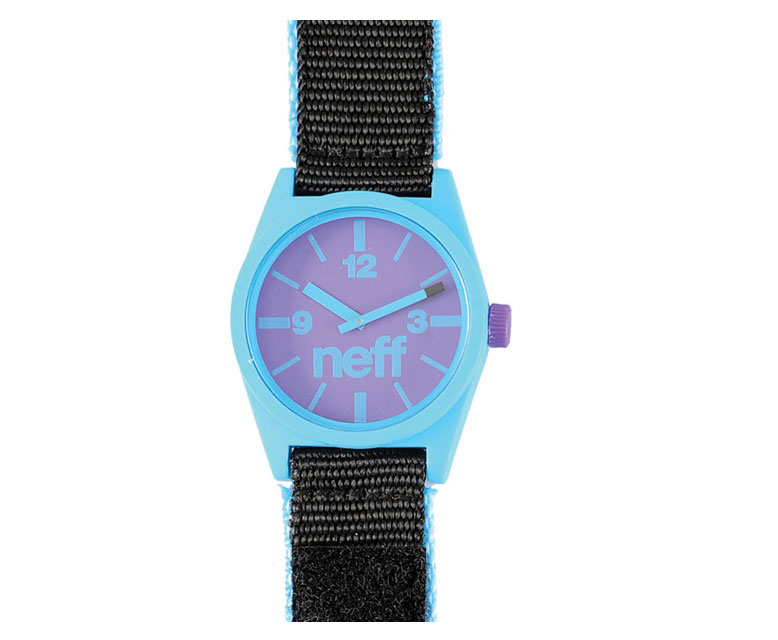 Skateboard Neff Daily Velcro Watch Cyan/Black - $18.95
