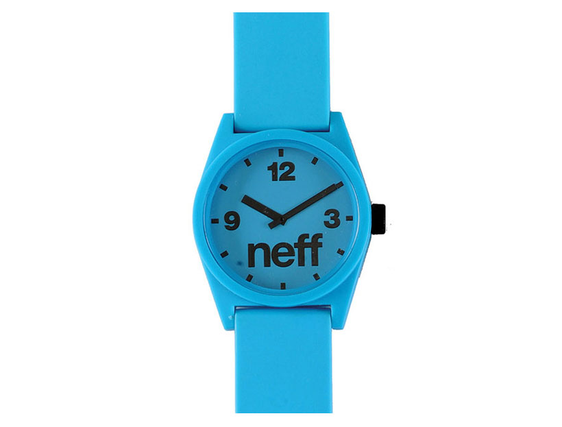 Skateboard Key Features of the Neff Daily Watch Watch: Custom Designed Neff Watch ABS Case and Nylon Strap Water Resistant to 5 ATM Adjustable - $20.95