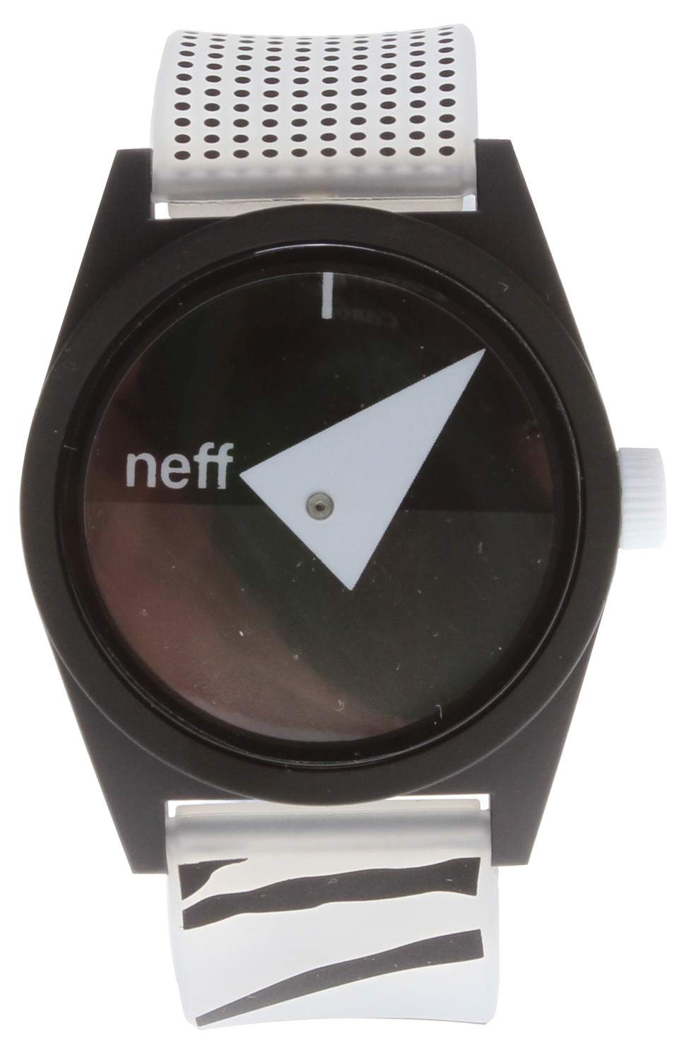 Skateboard Key Features of the Neff Daily Wild Watch: Custom Designed Neff Watch ABS Case and PU Straps Water resistant to 5 ATM Adjustable - $24.95