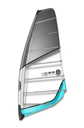 Wake 100% Pure Freerace. As a direct beneficiary of the NeilPryde Racing program, the V8 has many of the features found in the RS:Racing and RS:Slalom sails including the all-new UltraCam. With 2 cambers, a midsize luff pocket, and softer rotation than a race sail, the V8 represents the perfect balance between high end performance, solid low end power and easy handling.Key Features of the NeilPryde V8 6.0m Windsurfing Sail: The outline and shaping are closely related to the RS:Racing sail. This makes the V8 the fastest freeride sail in the collection. With the deepest profile of all the flatwater sails, and an aspect ratio close to that of the V6 - but with a bigger foot - the V8 planes effortlessly. Profile Relative Luff Sleeve Width. This involves using a wider sleeve section in the lower part of the sail (where the profile is deepest) giving good power, improved stability and easy rigging. In the upper section of the luff pocket, a narrow sleeve is used giving light weight, easy water starting and good twist. UltraCam Performance Technology delivers excellent rotation and profile stability. A reduction in the number of battens from 7 to 6 gives the V8 a lighter and softer feeling while improving low-end power. V8 6.0m - Luff 453cm Boom 189cm 7 Battens, 2 cams - $489.95