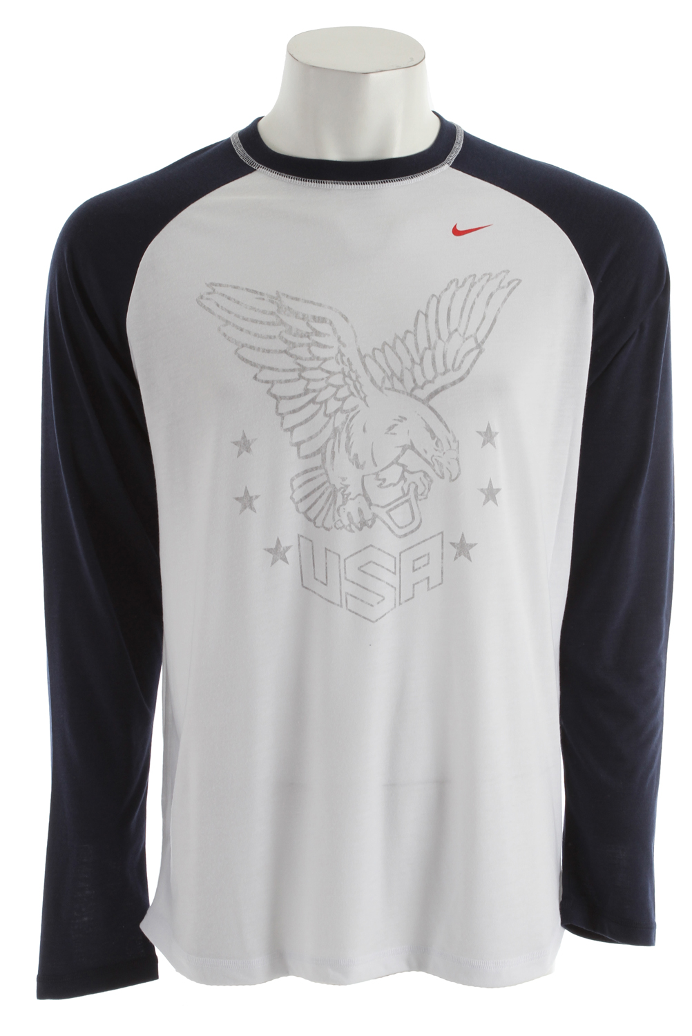 Skateboard Key Features of the Nike Olympics Dri-Fit Blend T-Shirt: Dri-FIT fabric to wick sweat away and help keep you dry and comfortable Fitted to move with you and stay out of the way, all day Seams designed to reduce distraction and bulk - $35.95