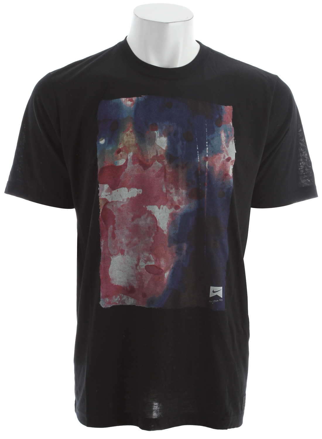 Skateboard Key Features of the Nike Specimen T-Shirt: 75% POLYESTER,13% COTTON,12% RAYON Dri-Blend tee Executed with a soft hand screen print. - $20.95