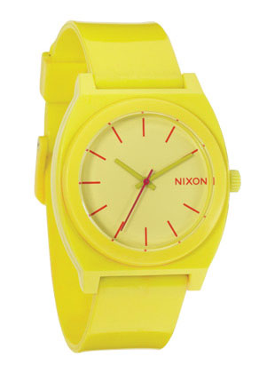Nixon Time Teller P Watch Yellow - $46.95