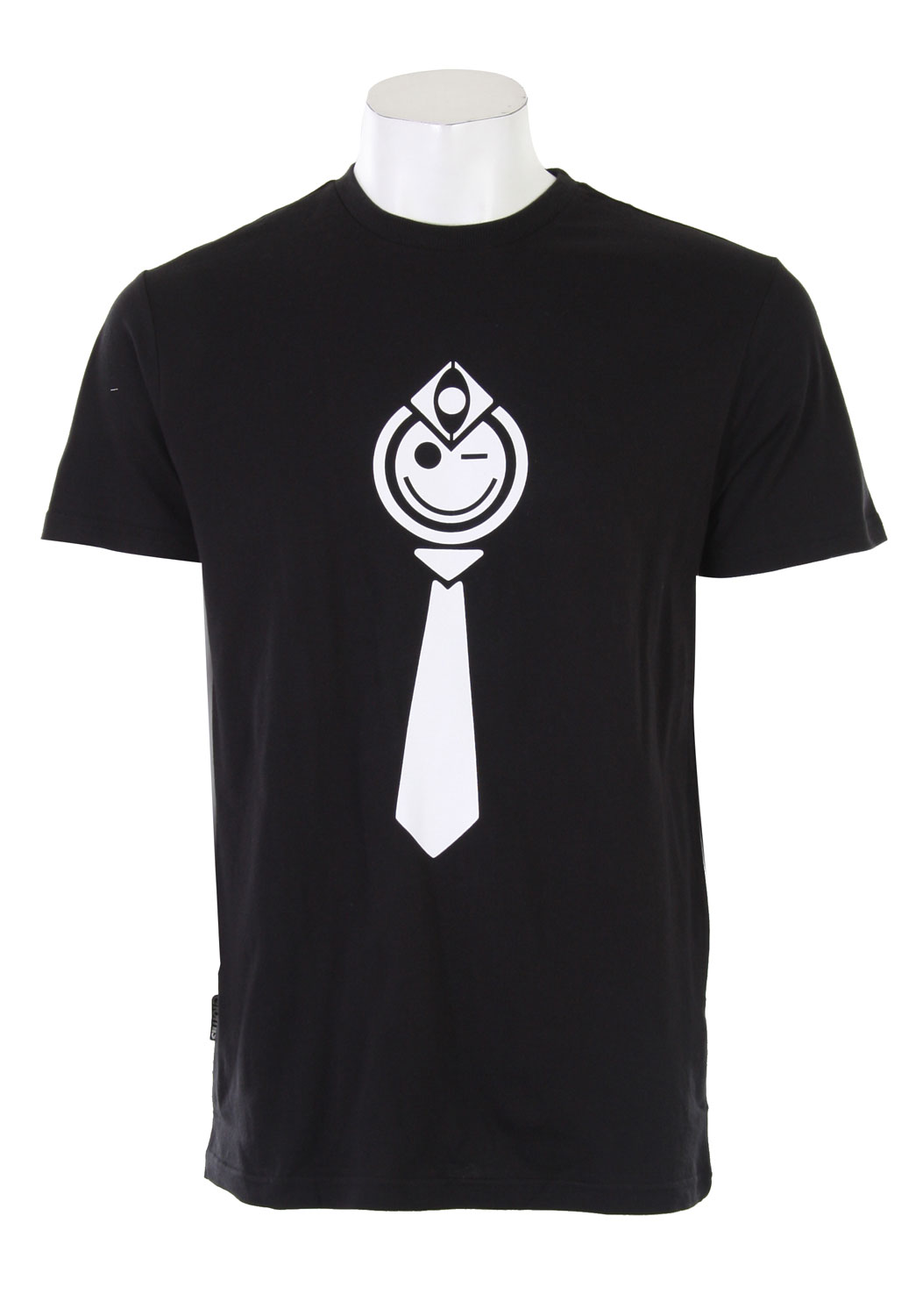 Don't worry, be happy. Sing that tune out loud all day long with the Nomis Smile T-Shirt! This 100% cotton t-shirt has a large screen printed smiley design that will keep you smiling all day! Its classy fit and heavy duty construction make it a perfect shirt for any occasion. Stand out from the pack with this positive t-shirt from Nomis. The Nomis Smile T-Shirt is guaranteed to make everyone around you smile with you!Key Features of the Nomis Smile T-Shirt Black: 100% Cotton. - $20.95