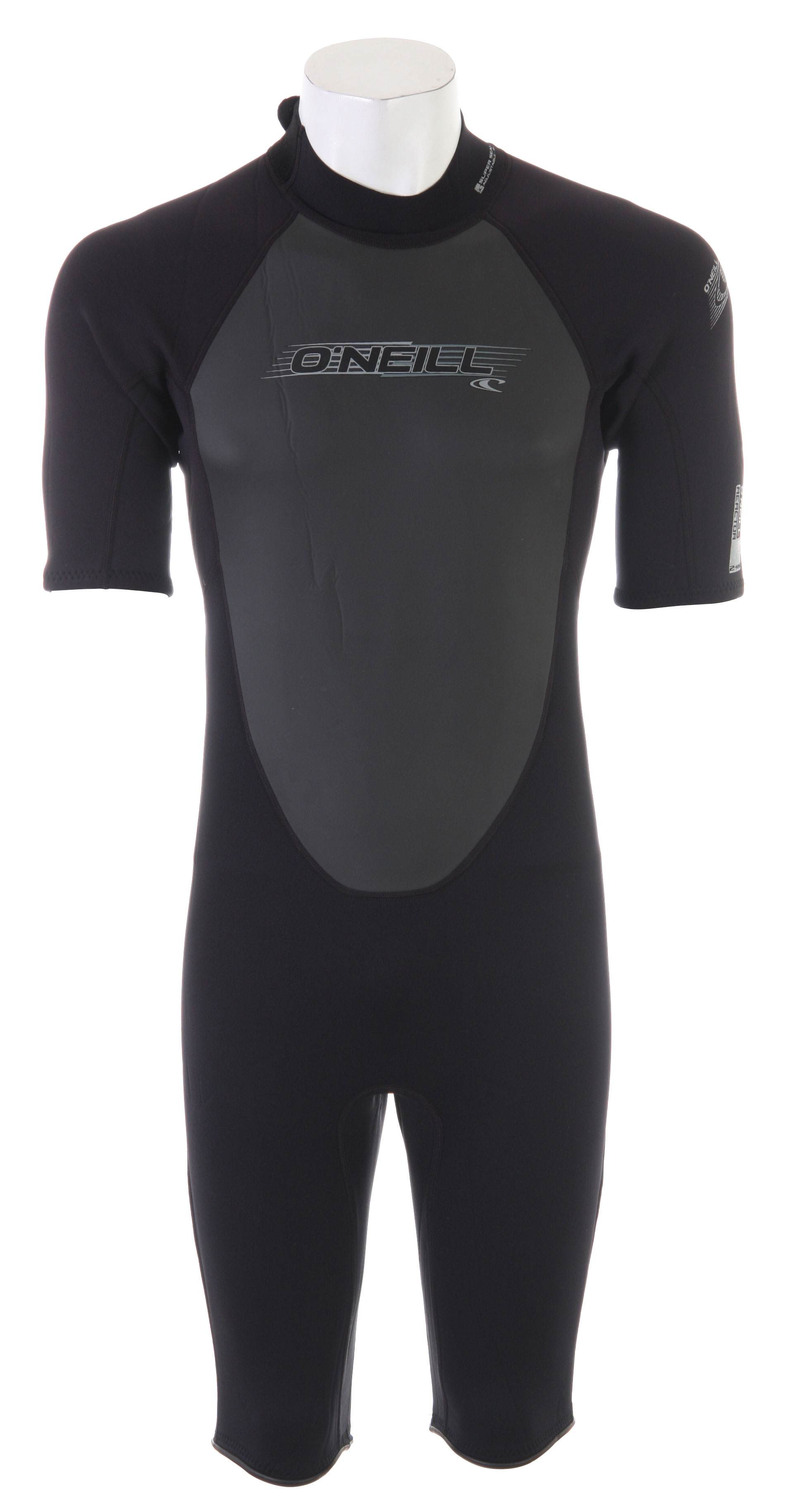 Surf Get a full dose of performance technology at an incredible value. Reactor Spring Wetsuits utilizes O'Neill's exclusive FluidFlex in the shoulder and sleeves, a fully adjustable super seal neck, and Krypto Knee Padz. Key Features of the O'Neill Reactor Spring Wetsuit: Top Sleeve/Under Sleeve: FluidFlex Body: Fluid Foam Chest/Back: Mesh smooth skin Fluid Foam Knee: Abrasion Resistant Kevlar Neck: Smooth Skin Fluid Foam: Dry Seal 30% FluidFlex Krypto Padz: ergonomic knee protection YKK back zip system Super Seal Collar: fully adjustable seal Hidden Key Pocket Flatloc Stitched (breathable seams) Strategic Seamless Paddle Zones - $74.95