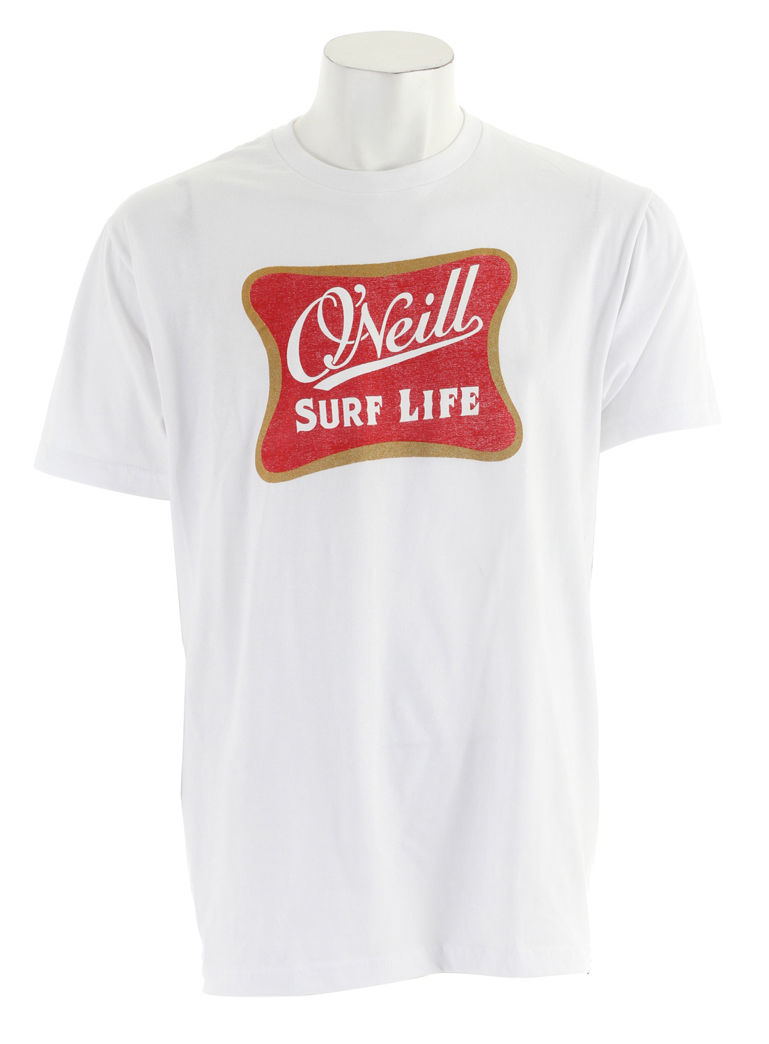 Surf Key Features of The O'Neill Good Life T-Shirt: Slim Fit Crew Neck Short Sleeve 100% ringspun cotton - $21.95