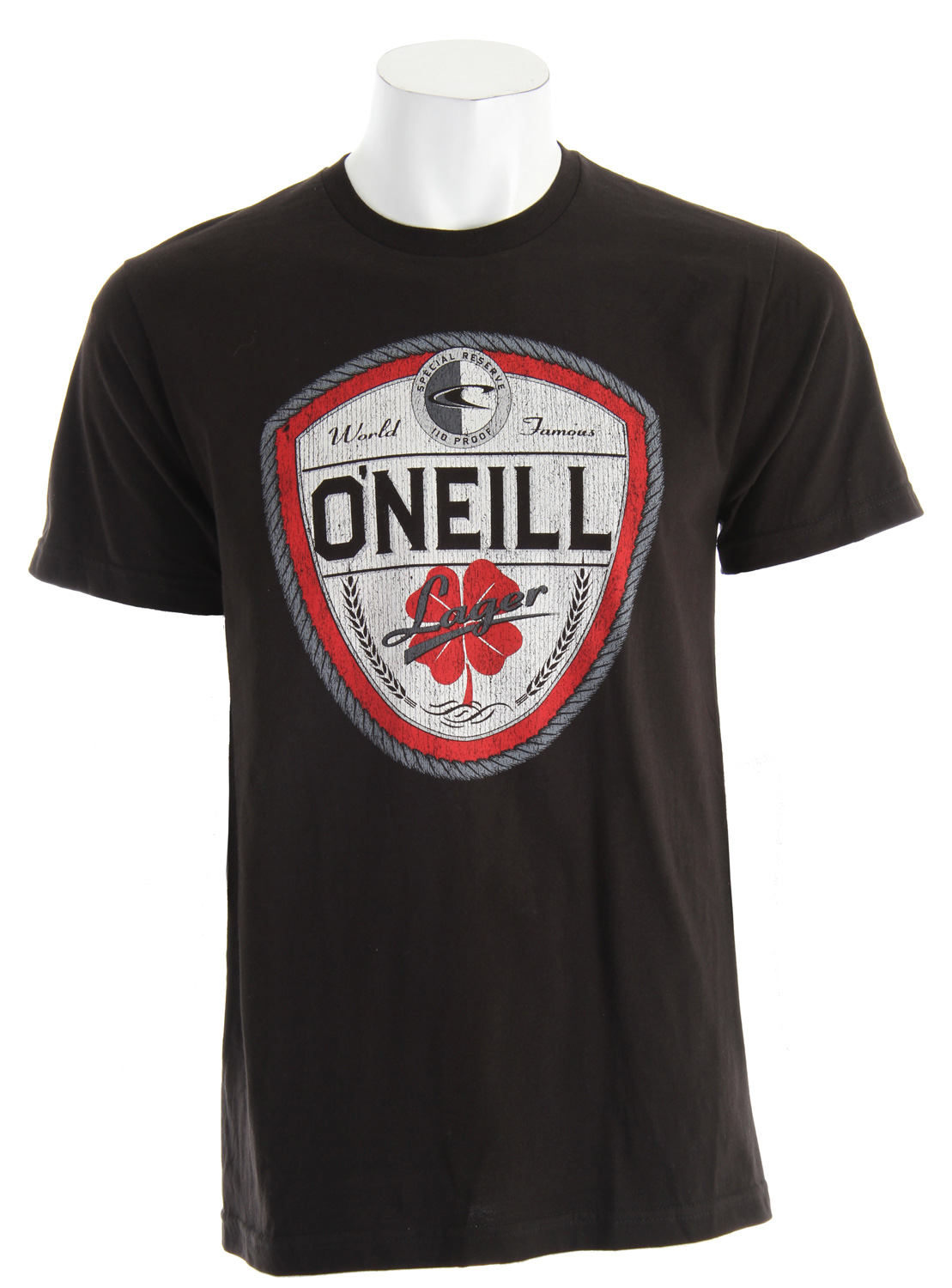 Surf Key Features of The O'Neill Dublin T-Shirt: Slim Fit Crew Neck Short Sleeve 100% ringspun cotton Softhand screenprint - $19.50