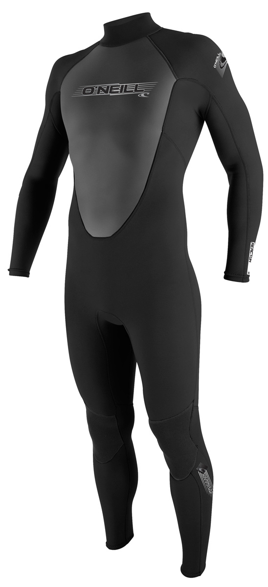 Surf Get a full dose of performance technology at an incredible value. The Reactor Series utilizes O'Neill's exclusive FluidFlex in the shoulder and sleeves, a fully adjustable super seal neck, and Krypto Knee Padz.Key Features of the O'Neill Reactor 3/2 Full Wetsuit:br>Single Superseal Neck Flatloc Construction Krypto Knee Padz Strategic Paddle Zones - $114.95