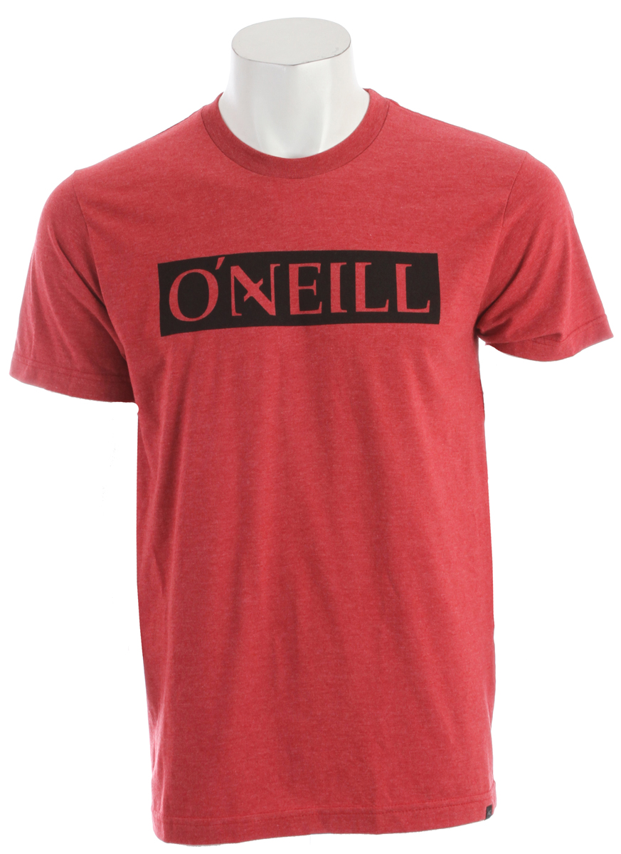 Surf Key Features of the O'Neill All Day T-Shirt: 50% cotton/50% poly 30 singles modern fit heather tee Softhand screenprint and attached hem label. - $21.50
