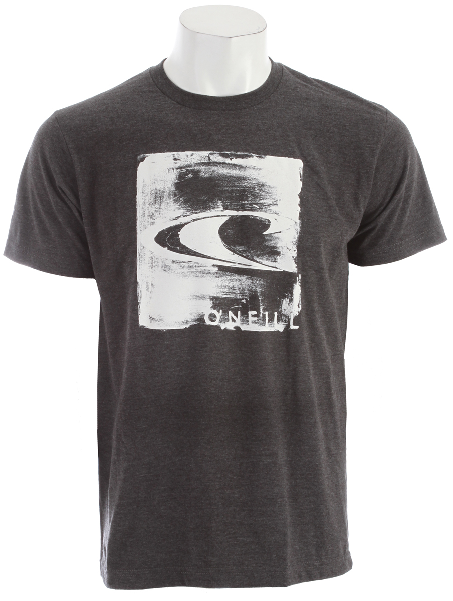 Surf Become a walking museum with the artsy O'Neill Wheat Paste T-ShirtKey Features of the O'Neill Wheat Paste T-Shirt: 50% Cotton / 50% Poly 30 Singles Modern Fit Heather Tee Softhand Screenprint - $16.95